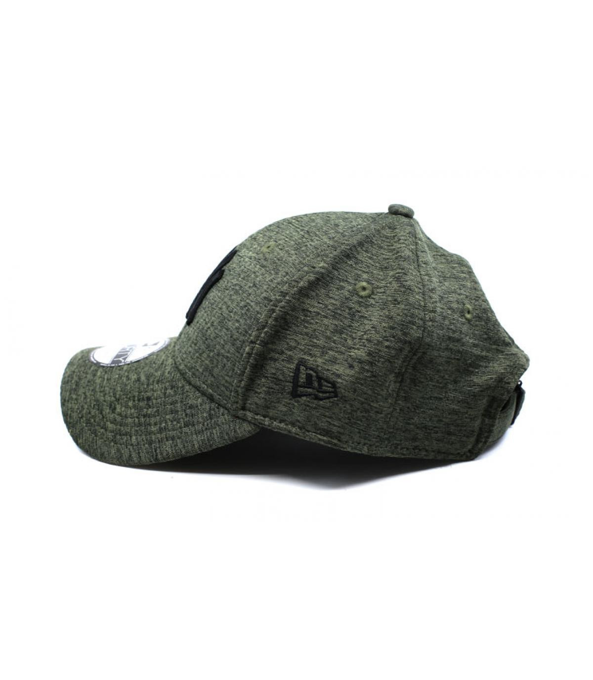Details Cap NY Dryswitch Jersey 9Forty olive black - Abbildung 4