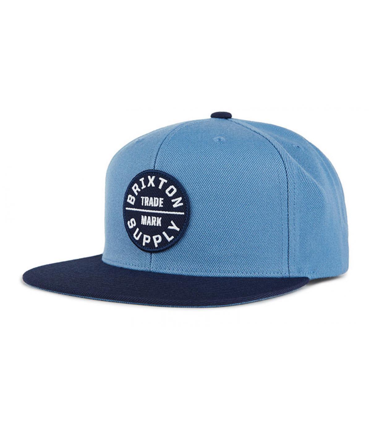 Snapback blau Brixton