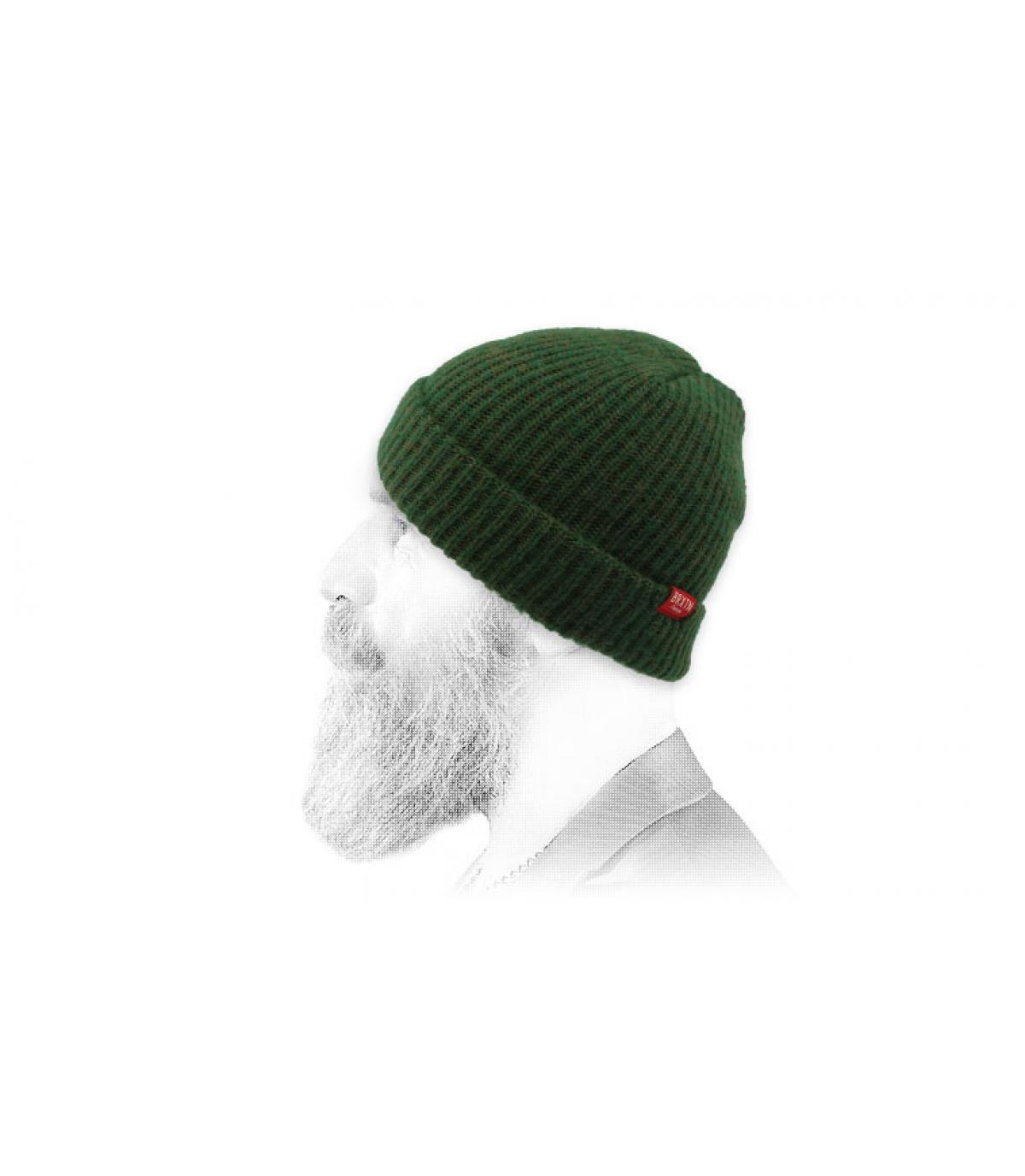 Mütze dunkelgrün Brixton