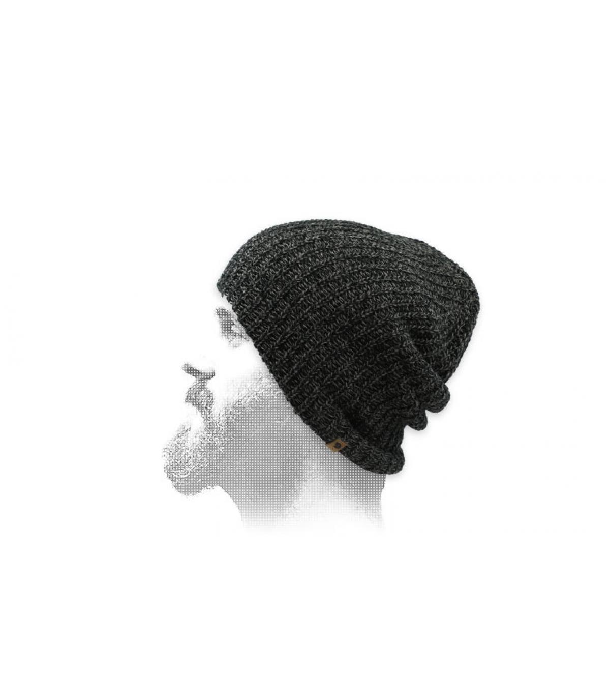 Oversize Mütze schwarz Fjällräven