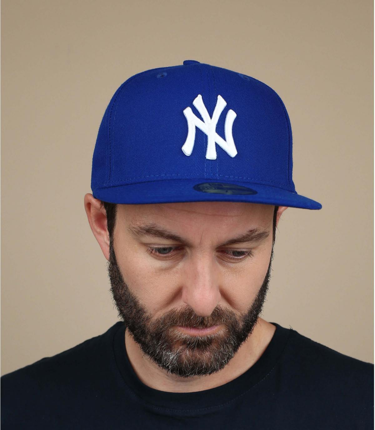 Cap New York blau