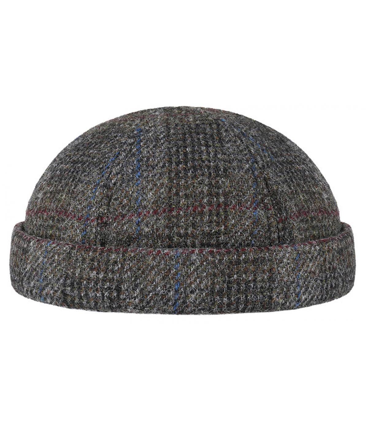 Details Docker Harris Tweed Virgin Wool grey - Abbildung 2