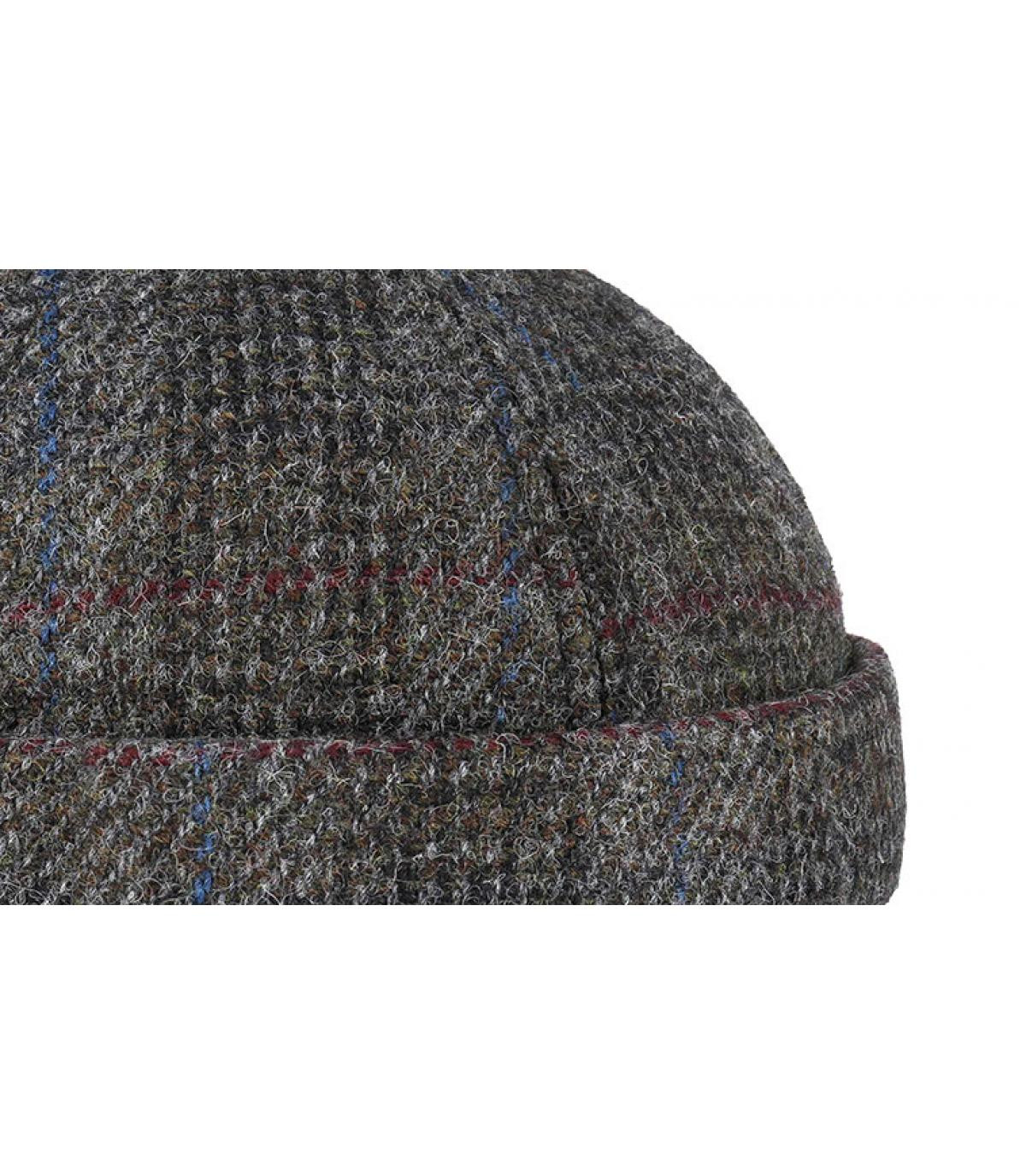 Details Docker Harris Tweed Virgin Wool grey - Abbildung 3