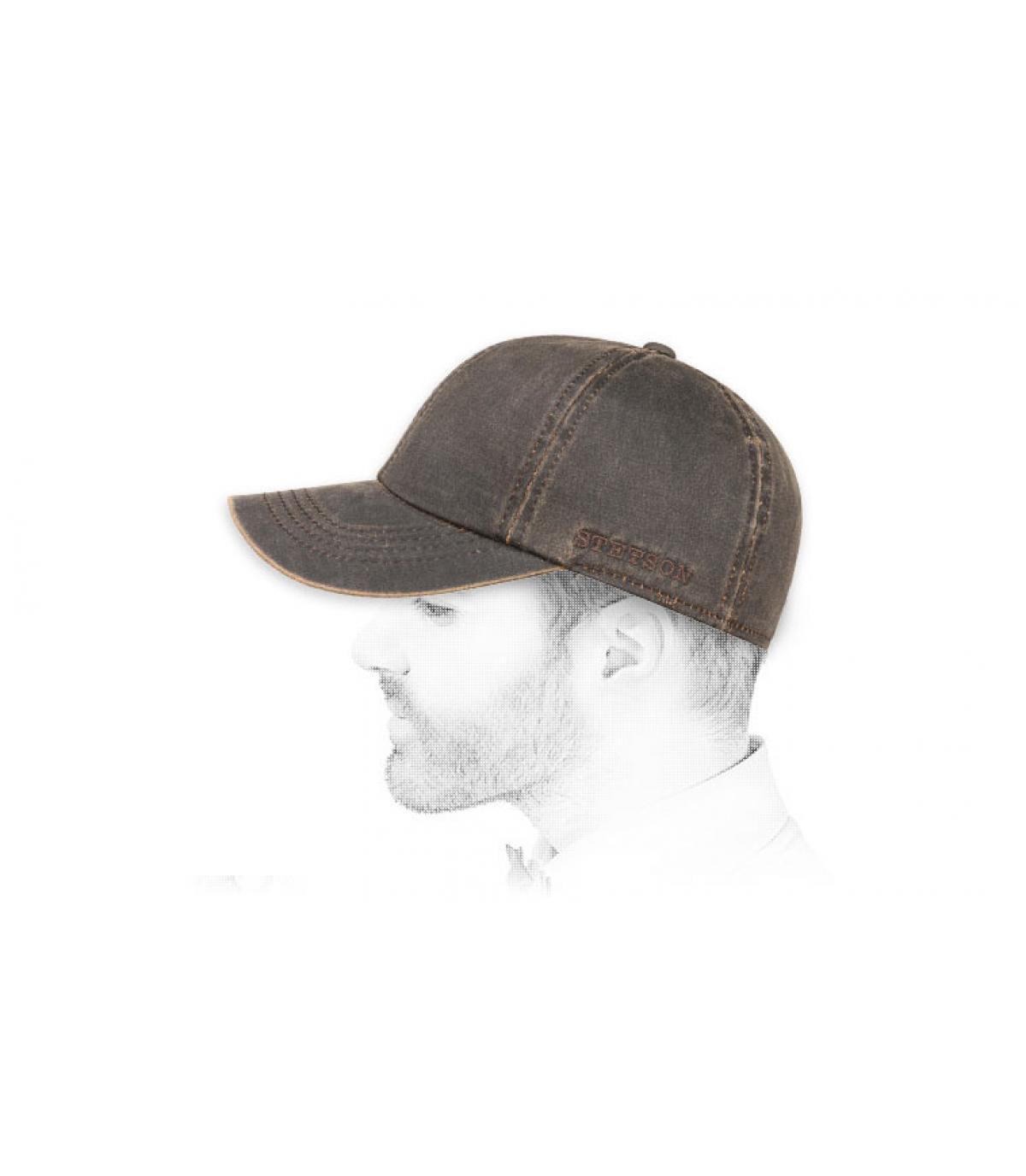 Cap braun Ohrschützer