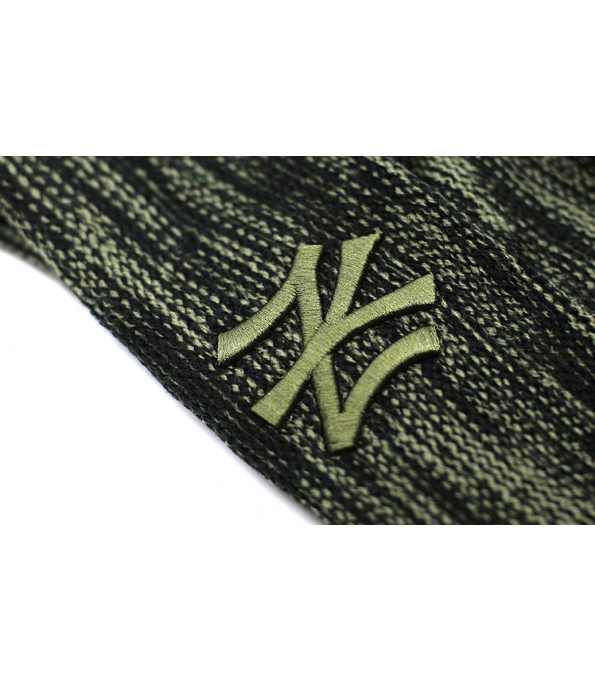 Details Mütze NY Marl Knit black Olive - Abbildung 3