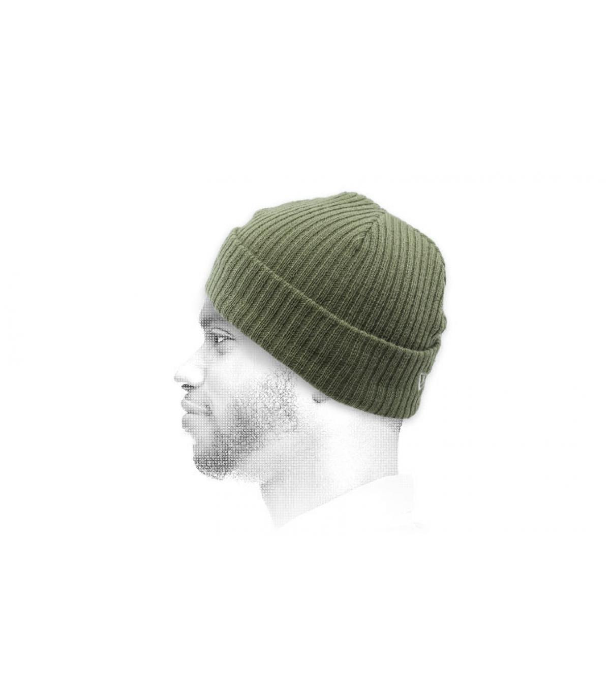 Mütze docker olivgrün