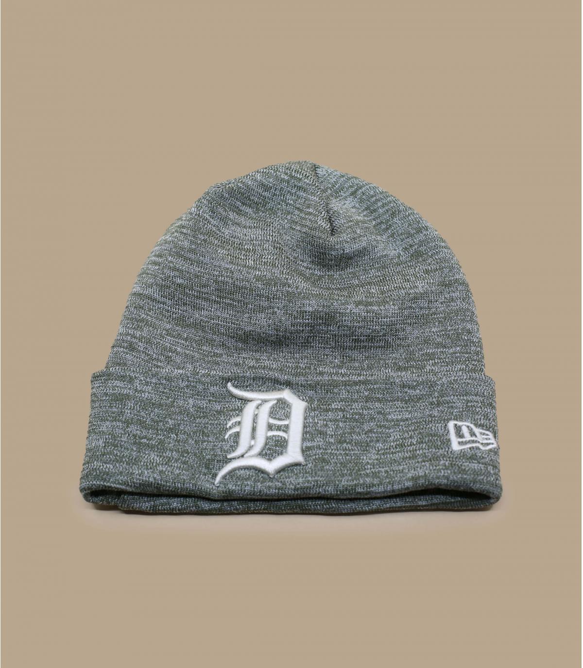 Details Mütze Detroit Enginnered Fit Cuff olive gray - Abbildung 2