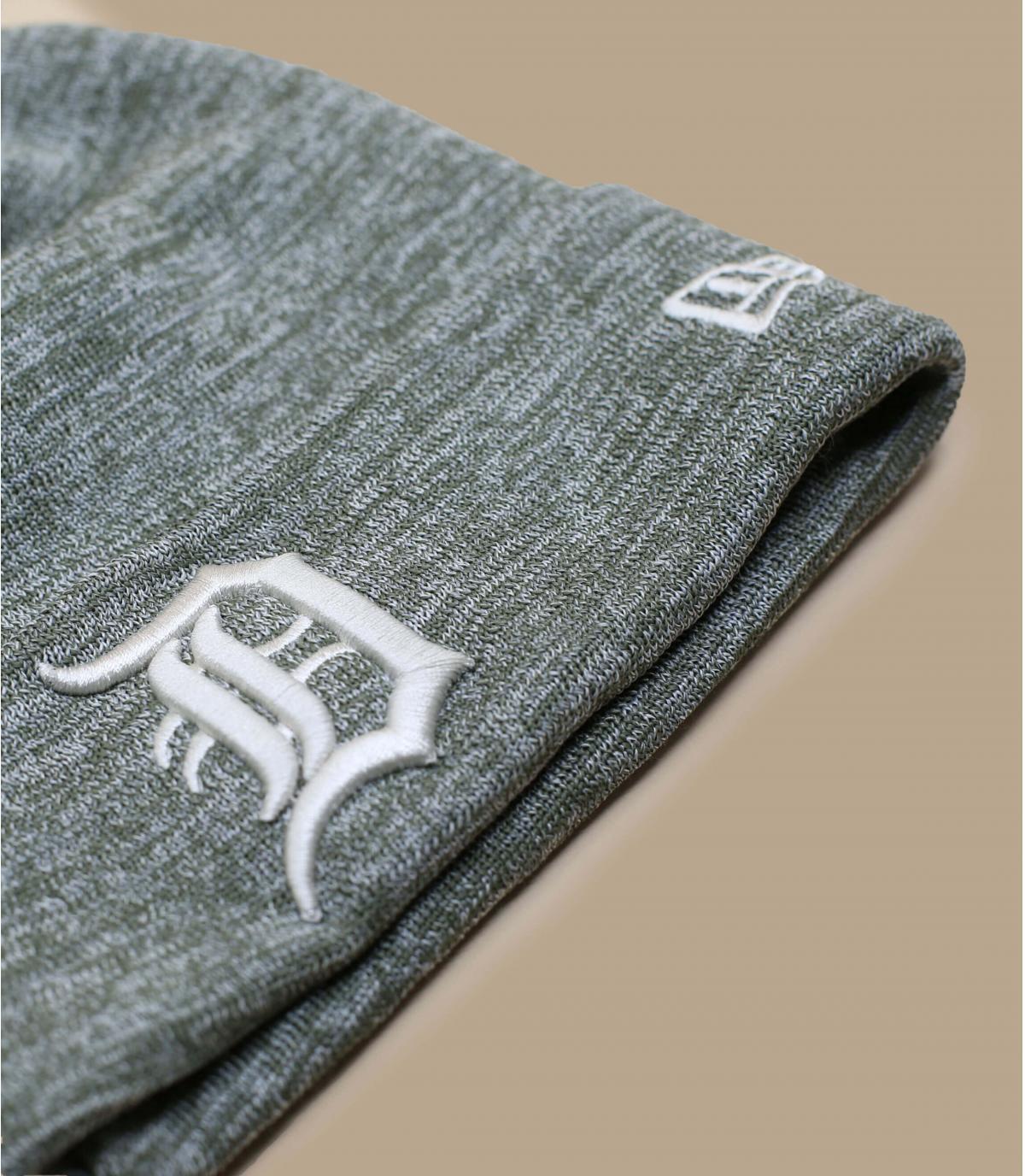 Details Mütze Detroit Enginnered Fit Cuff olive gray - Abbildung 3