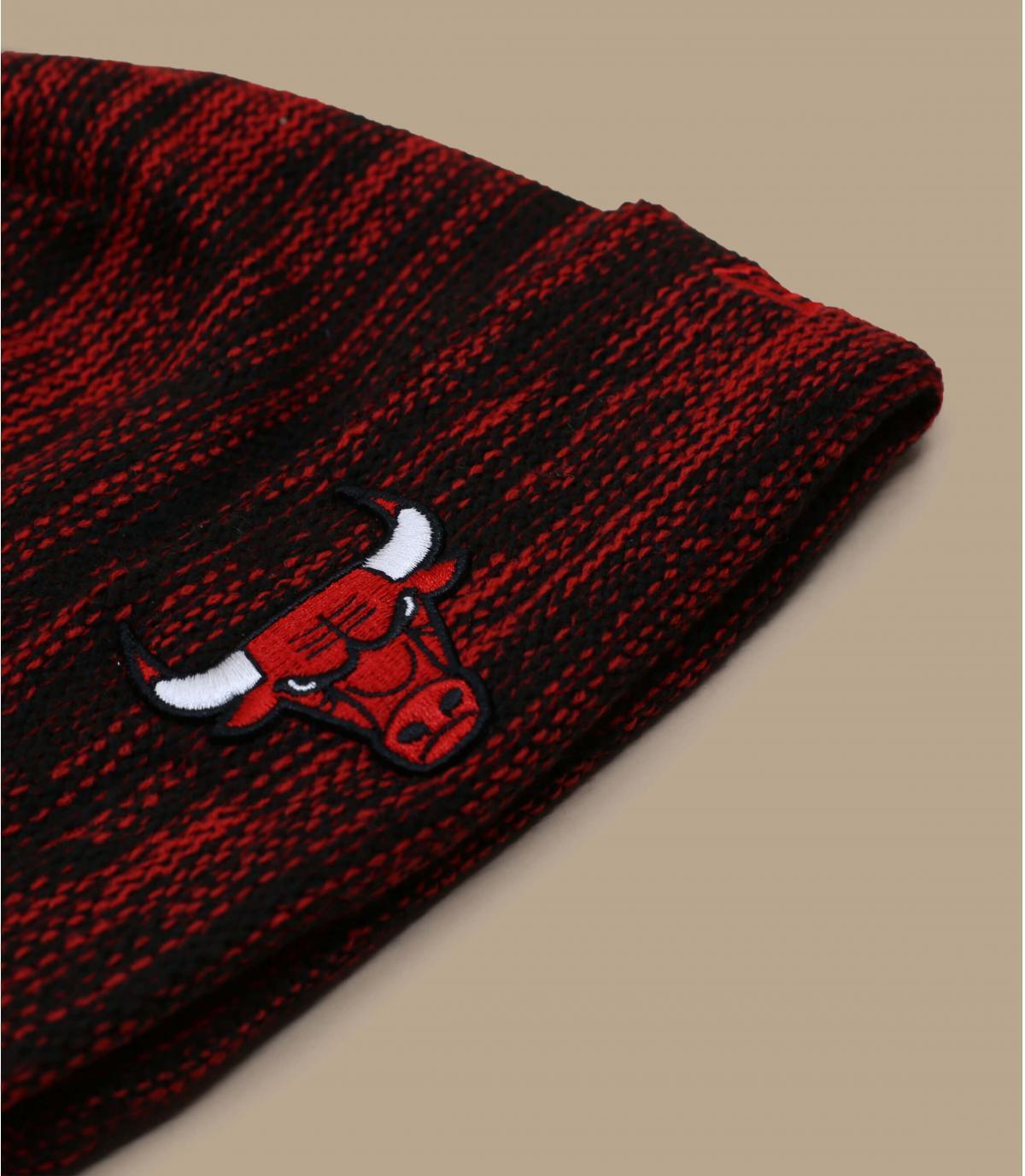 Details Mütze Kids Bulls Marl black red - Abbildung 3