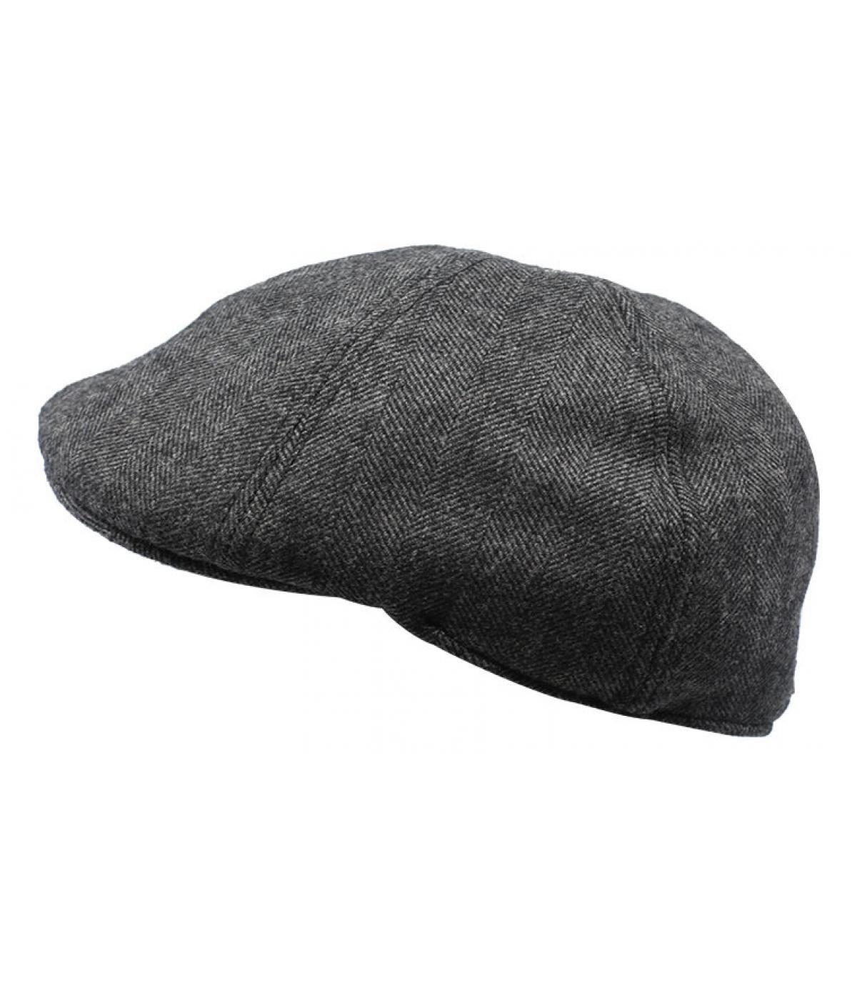 Duckbill Cap grau Wolle