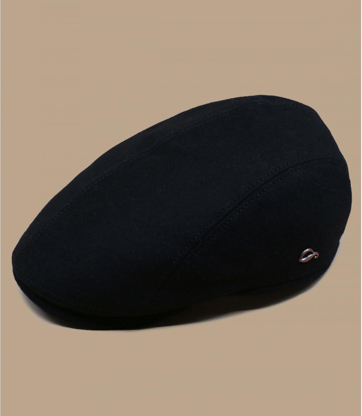 Barett schwarz Gore Tex Wolle