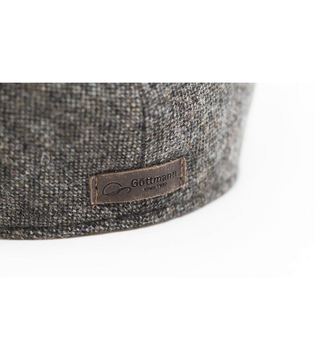 Details Oxford Wolle braun - Abbildung 3