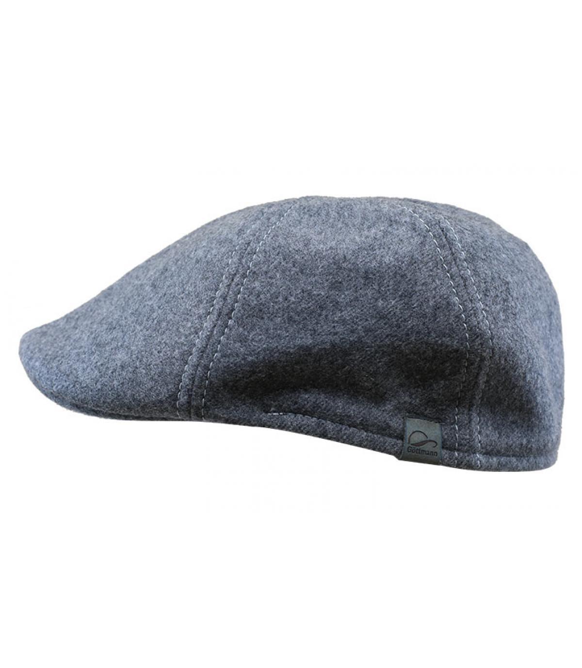 Details Gatsby Wolle grey - Abbildung 2