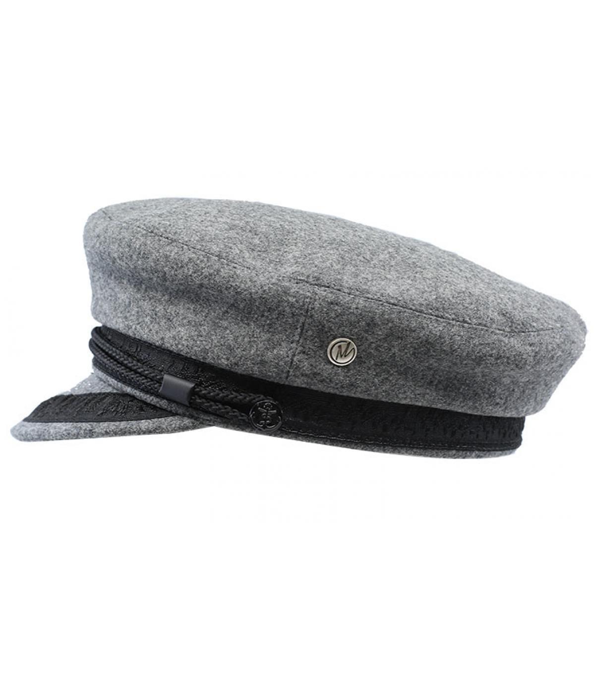 Seemanns Cap hellgrau