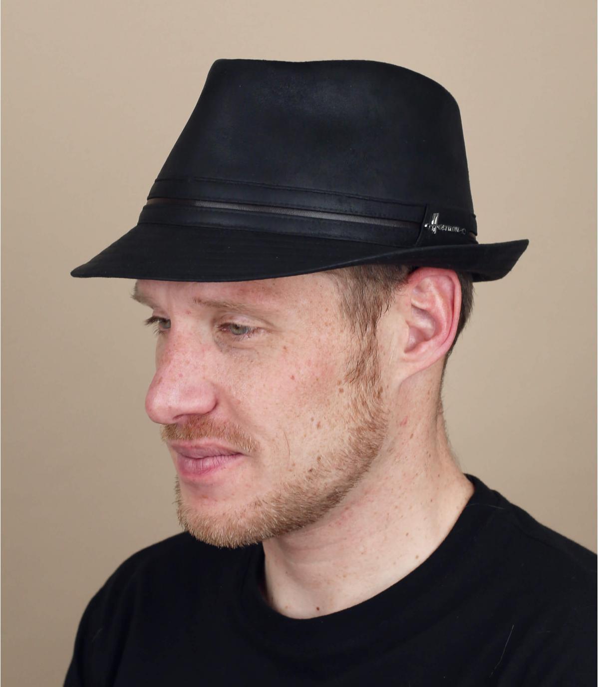 trilby noir Herman
