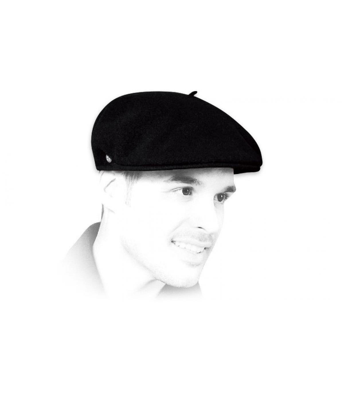 Französische Cap schwarz
