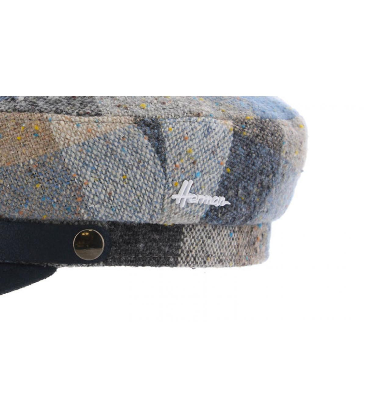 Details Marins Wool blue - Abbildung 3