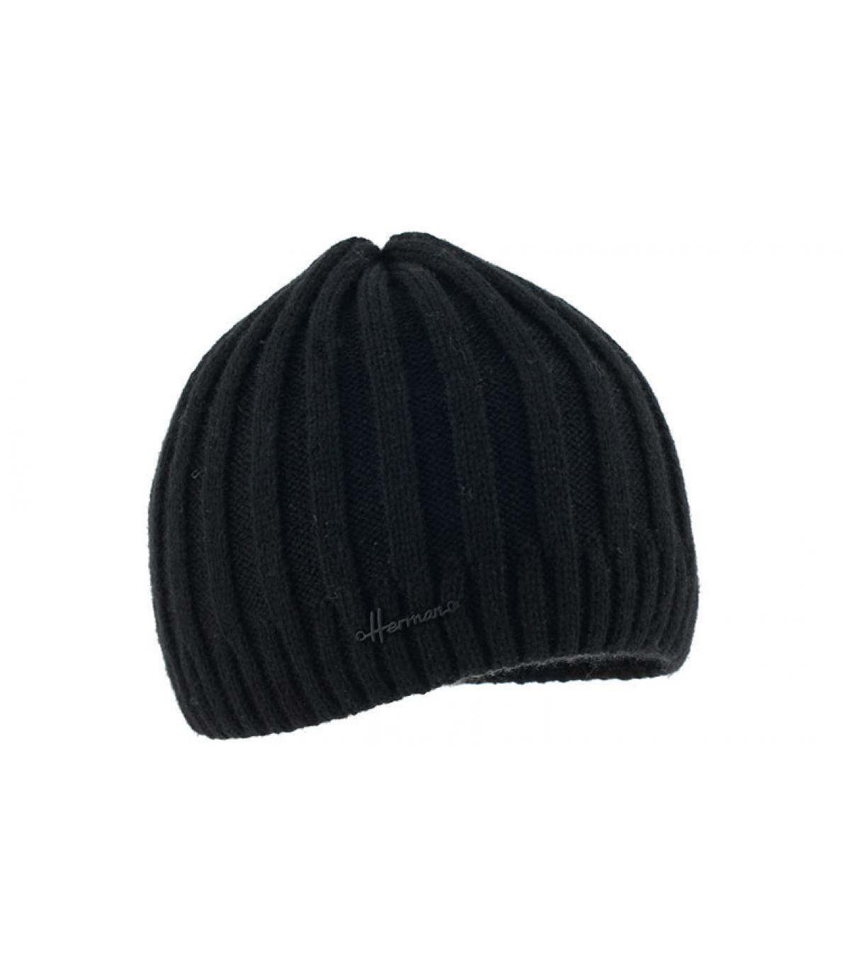 Kurze Mütze schwarz