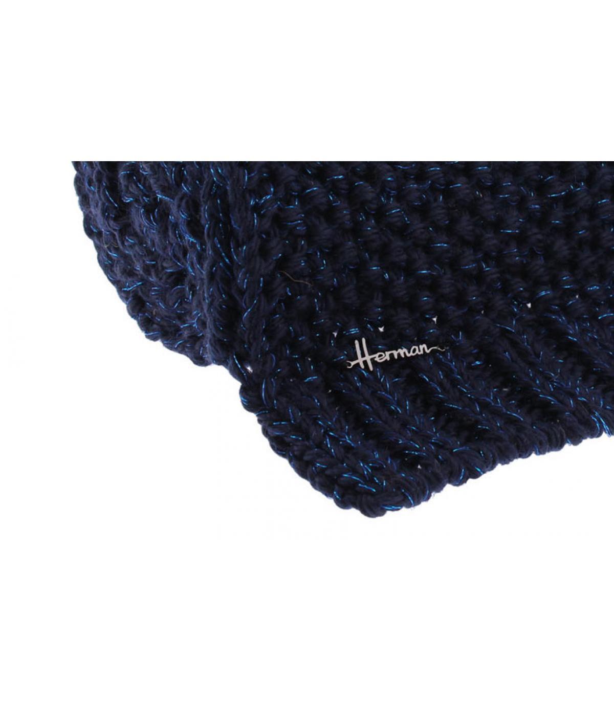 Details Lana Scarf Lurex blue - Abbildung 2