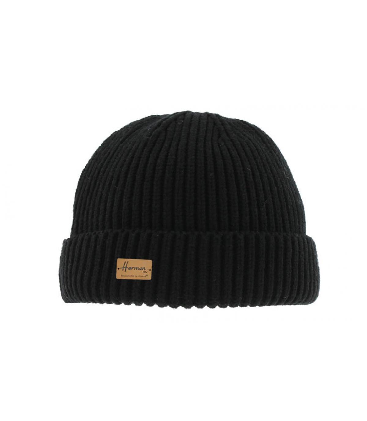 Docker Mütze schwarz