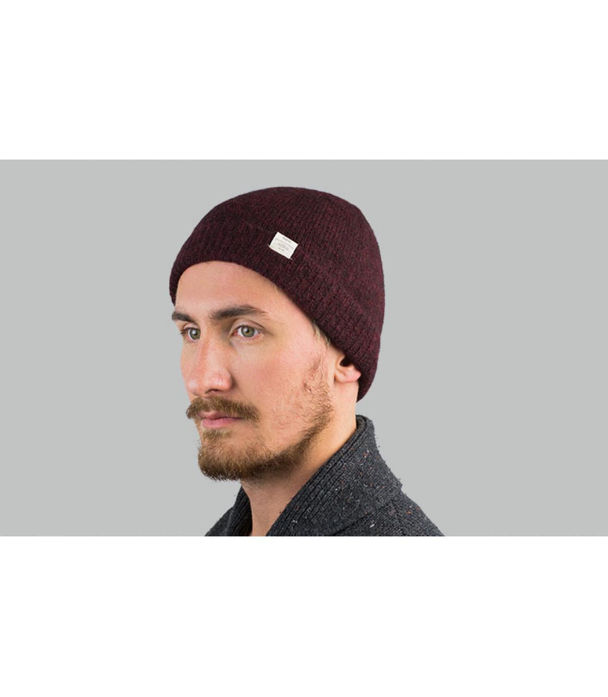 Mütze Alpaka bordeaux Barts