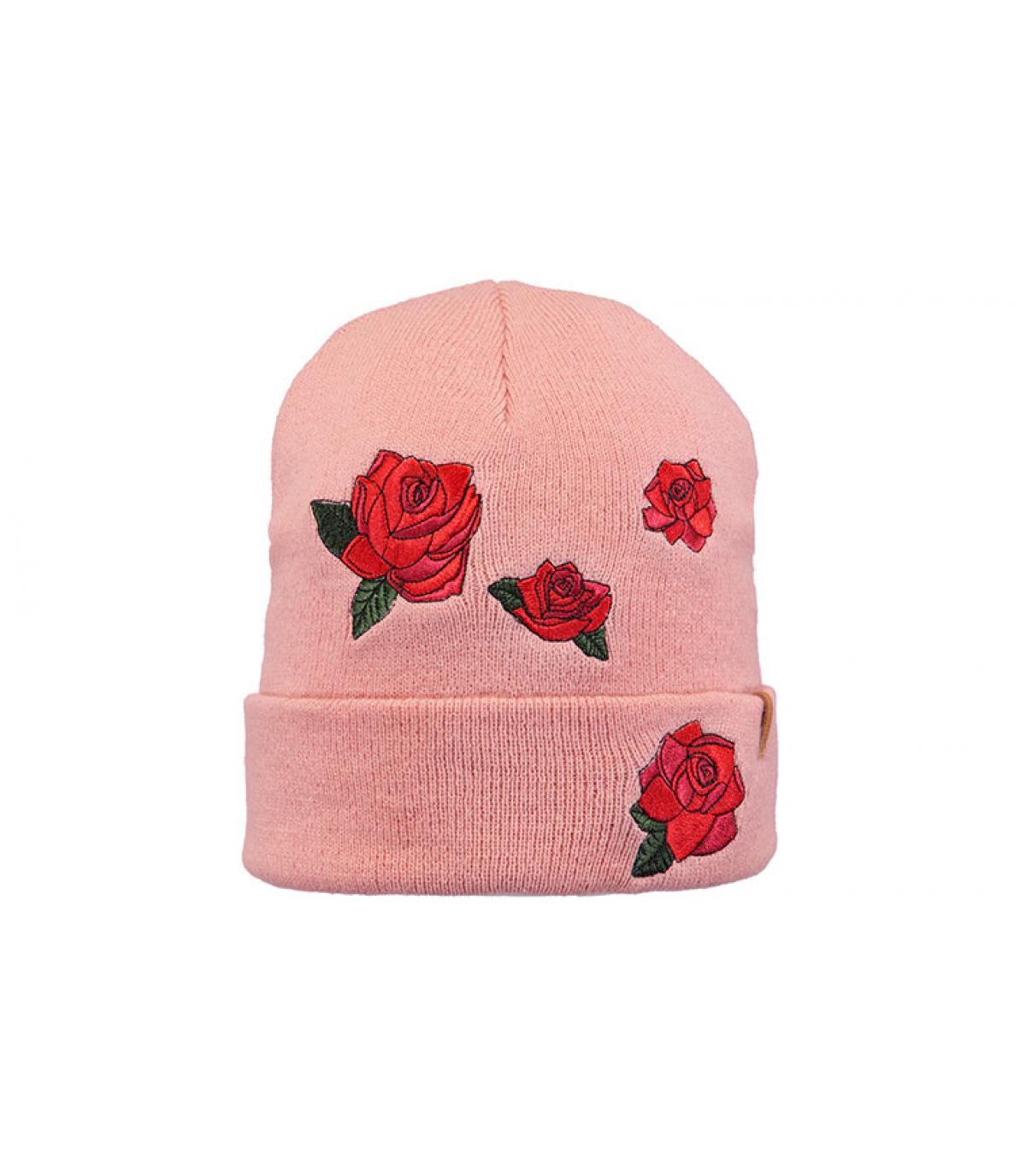 Mütze Blumen rosa Barts