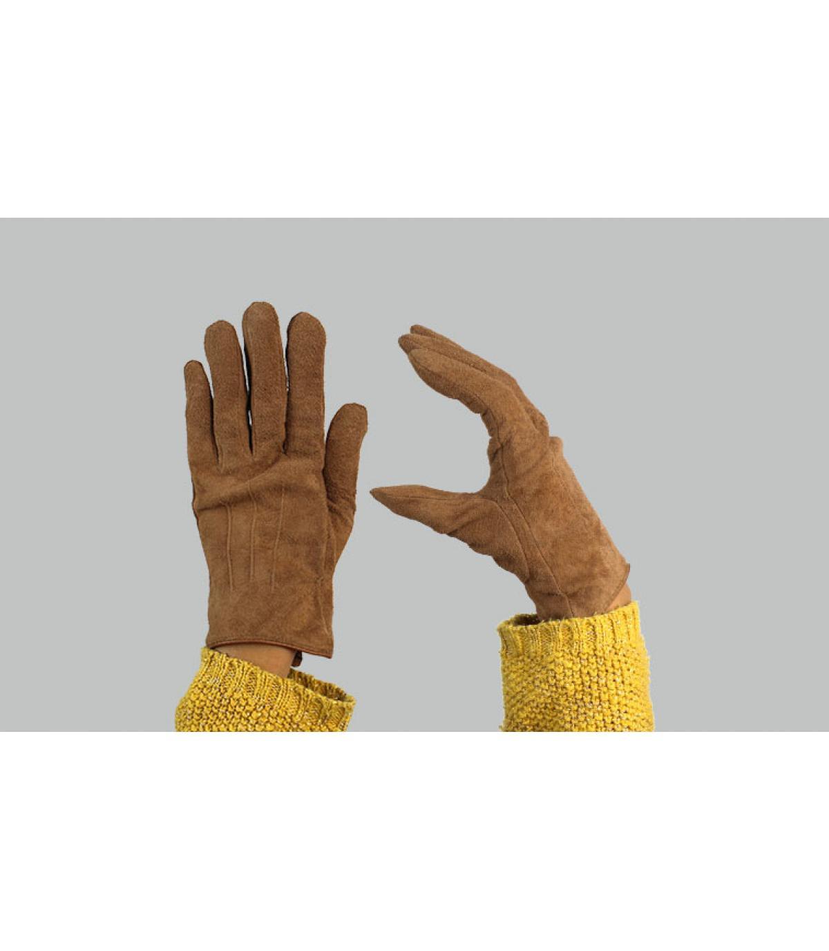 Damen Handschuhe braun Barts