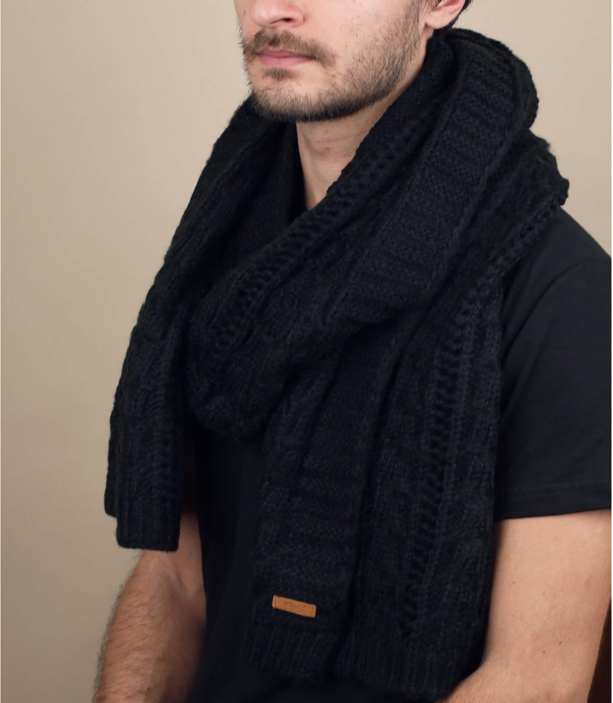 Schal schwarz Barts