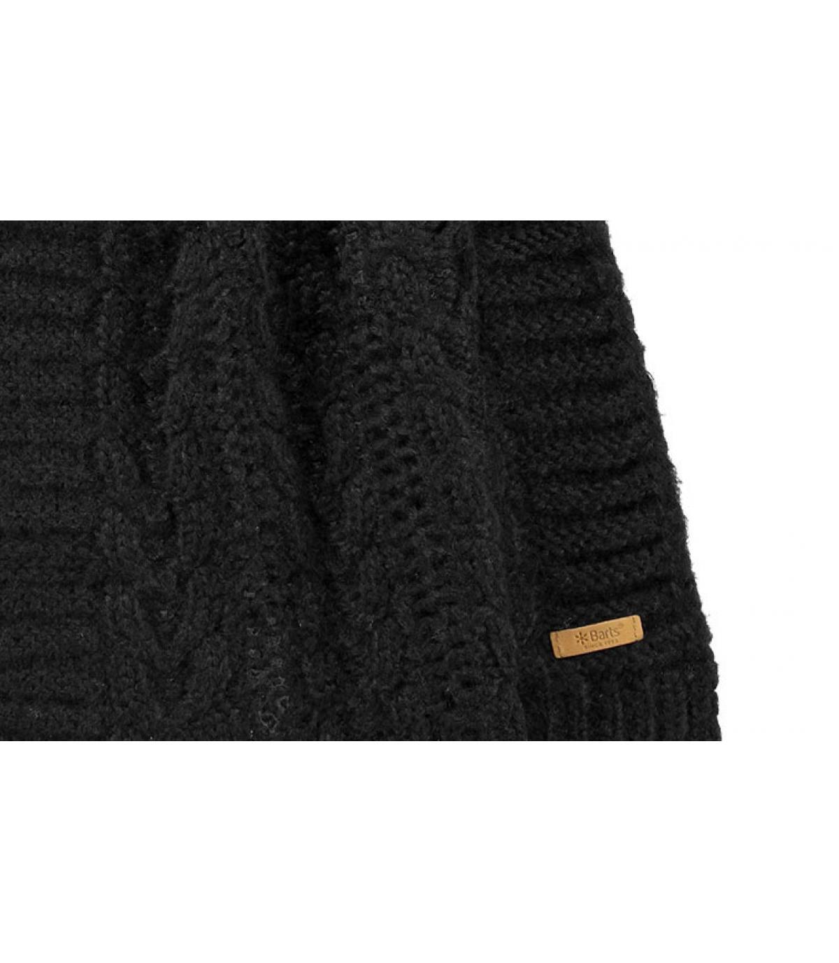 Details Anemone Scarf black - Abbildung 3