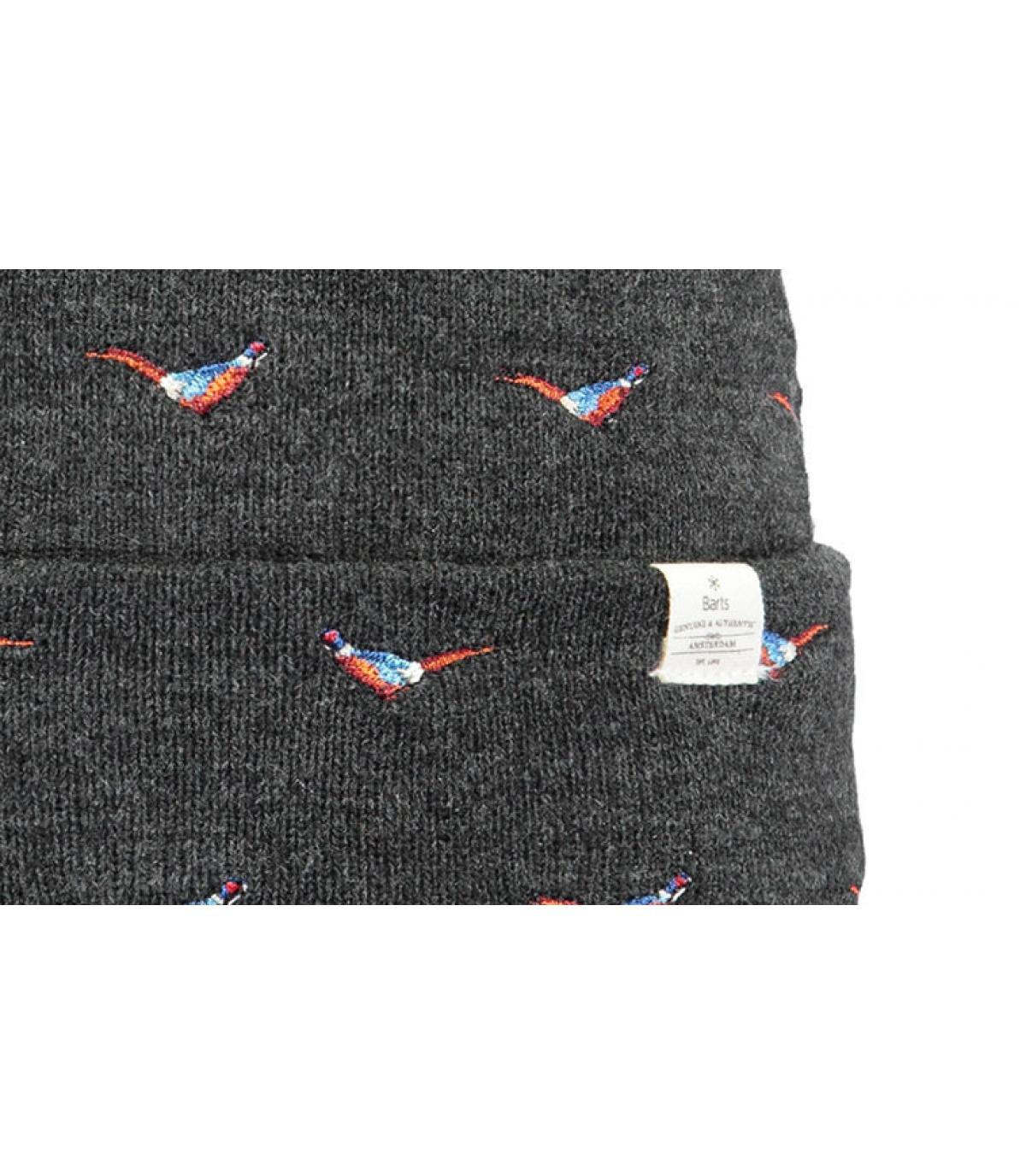 Details Vinson Beanie dark heather - Abbildung 3