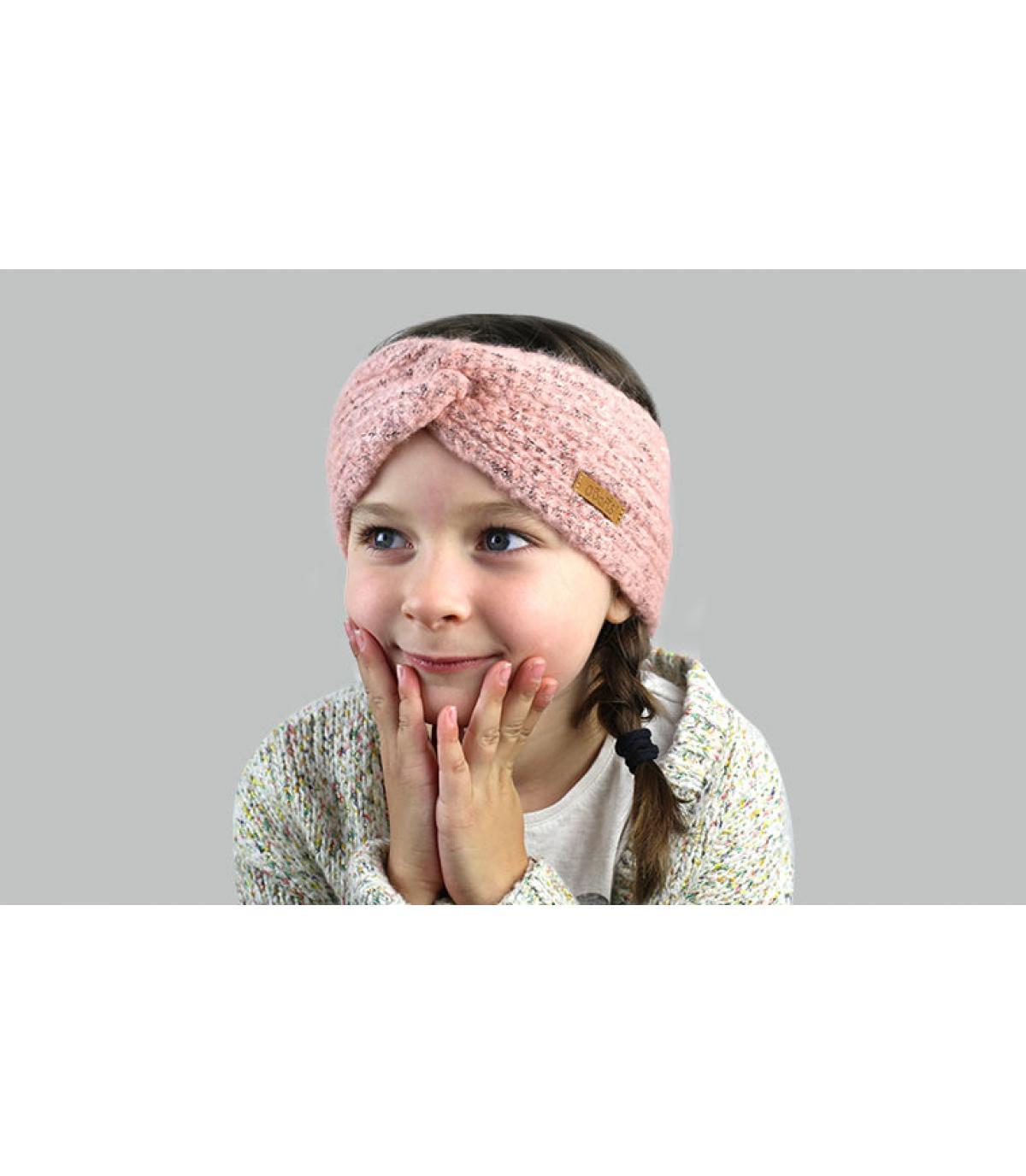 Stirnband Kinder rosa
