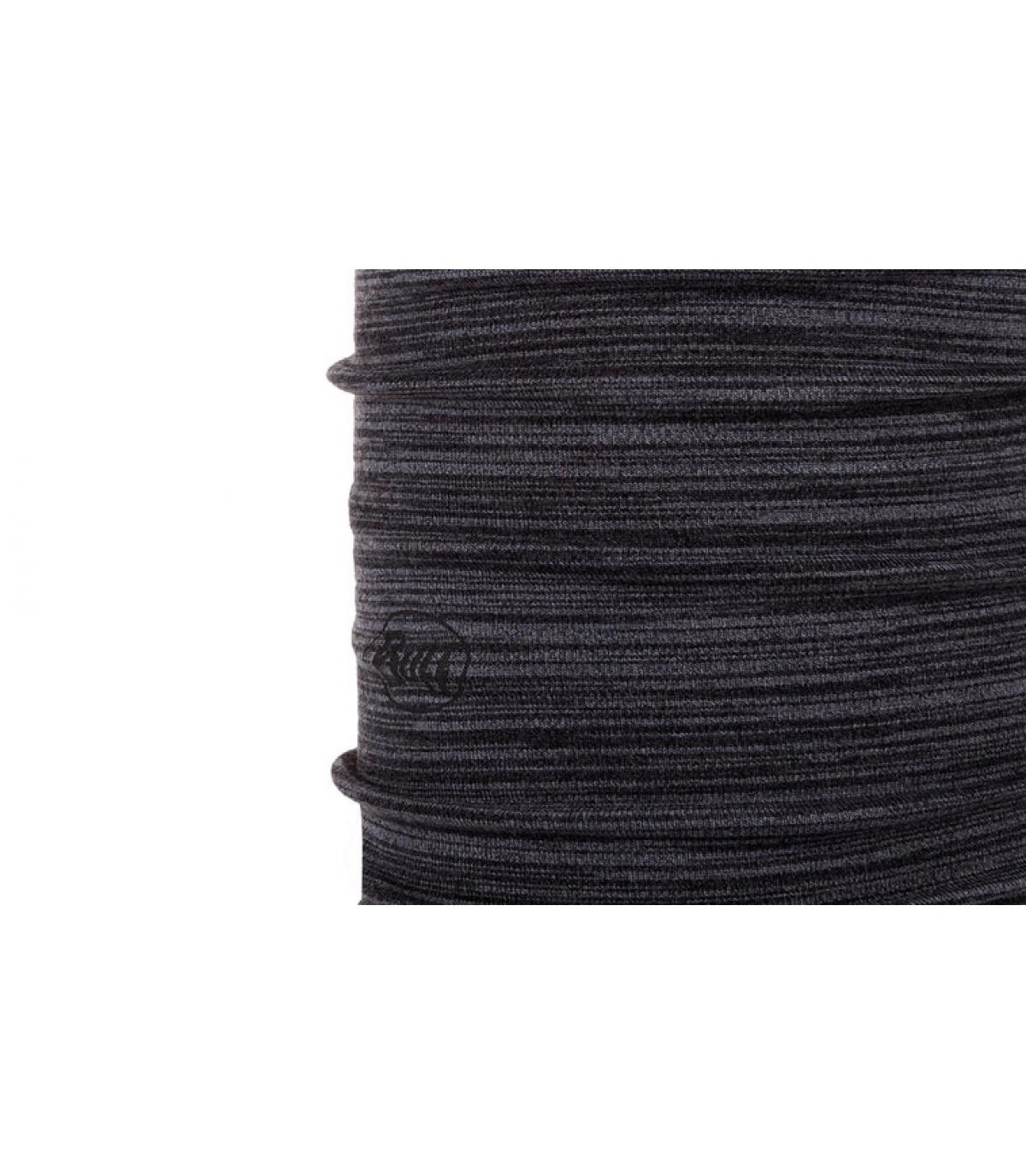 Buff Wolle grau schwarz