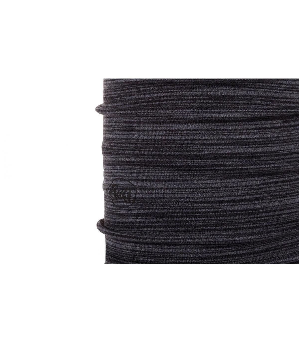 Details Midweight Merino Wool light grey melange - Abbildung 2