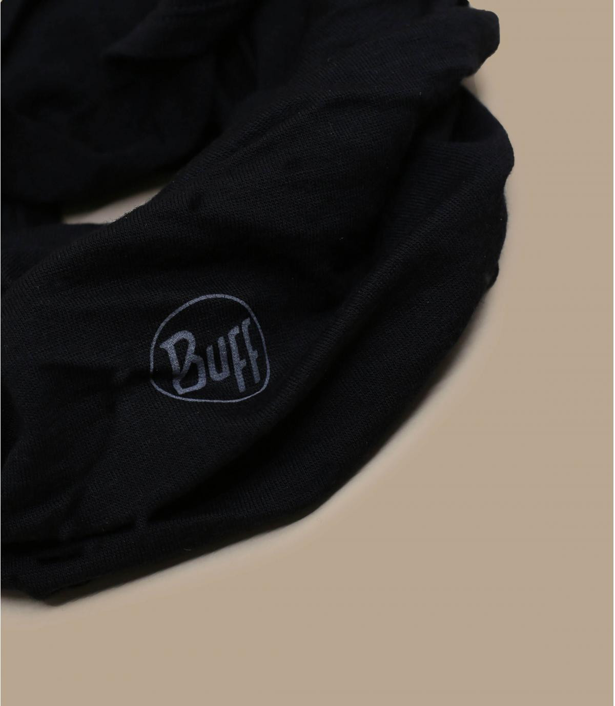 Buff Wolle schwarz