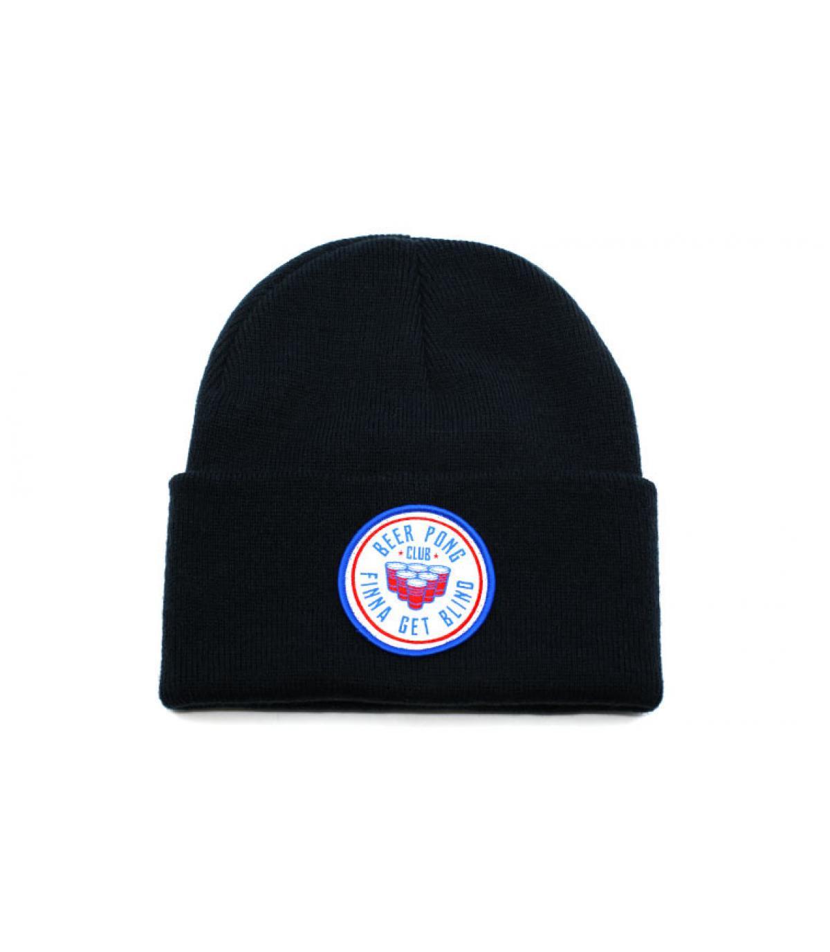 Mütze Beer Pong blau