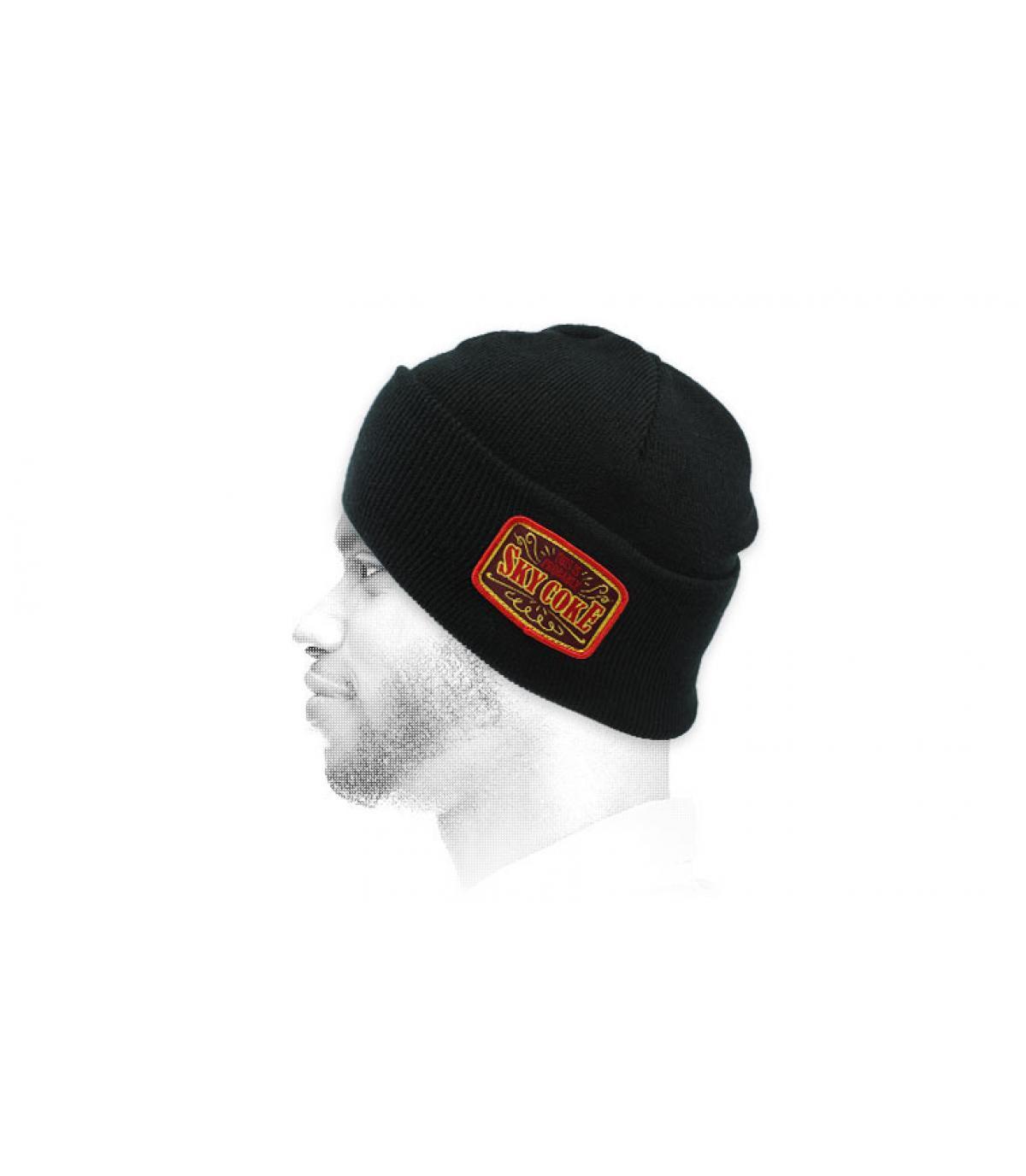Mütze Sky Coke schwarz