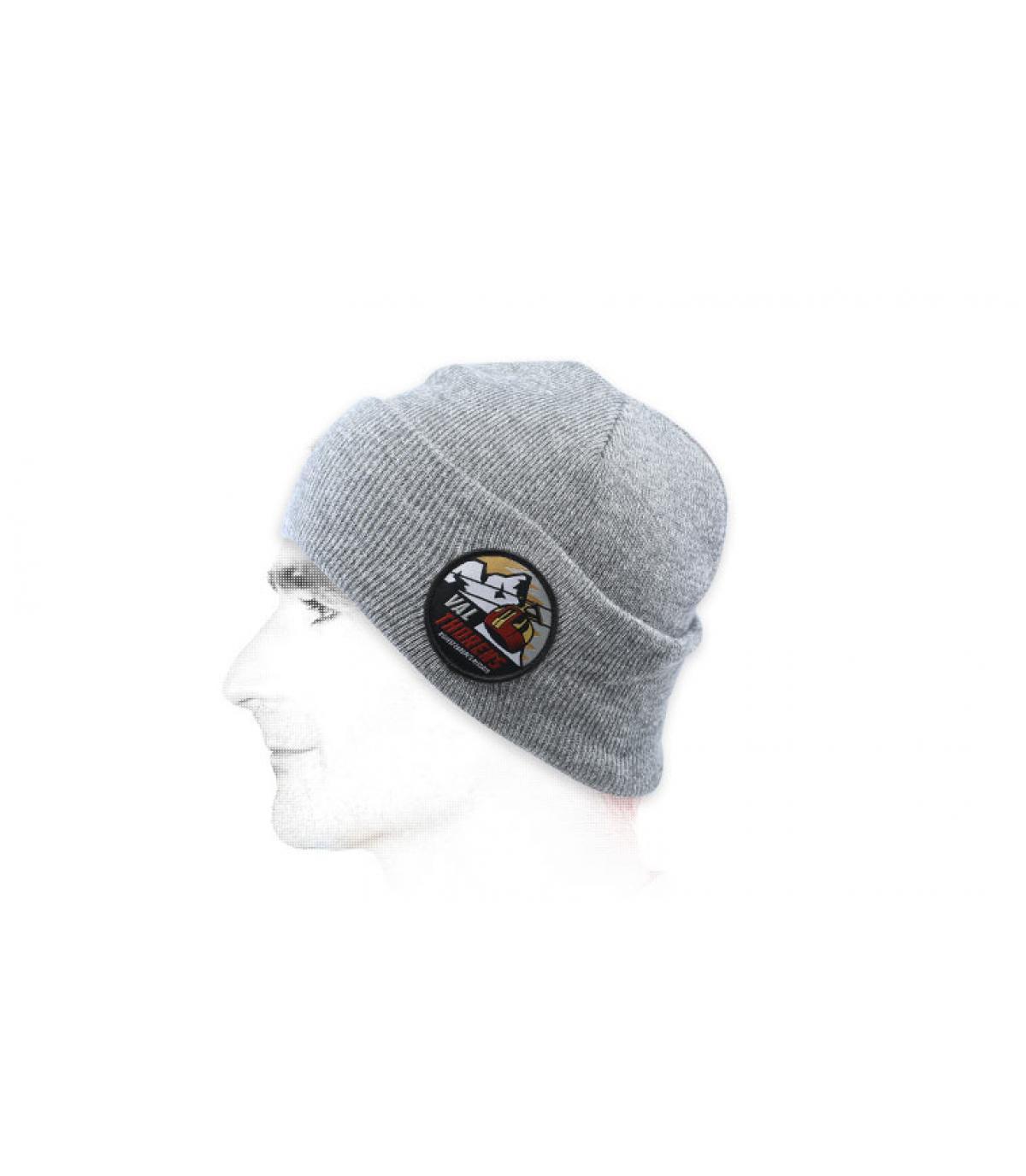 Mütze Val Thorens grau