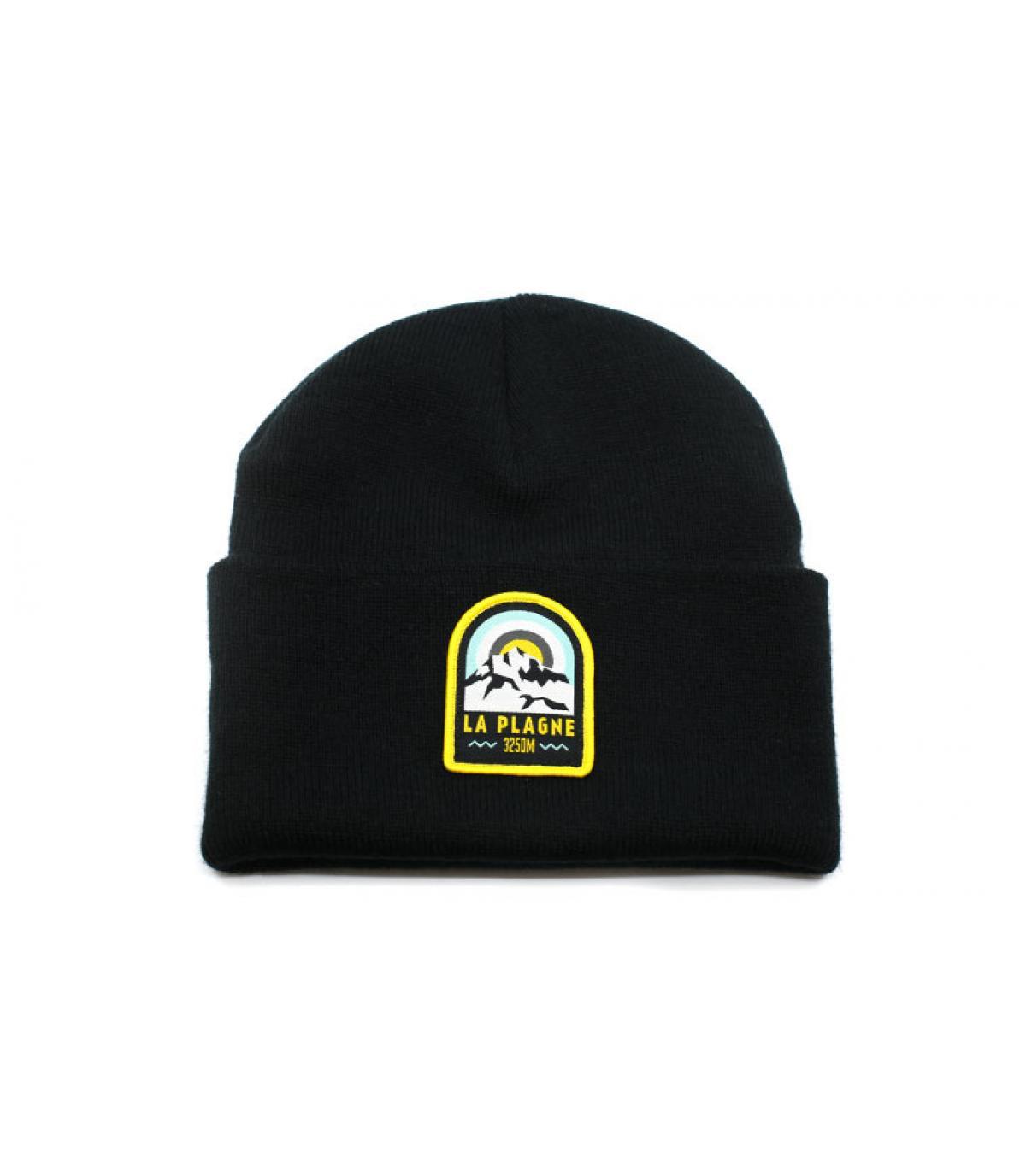 Mütze La Plagne schwarz