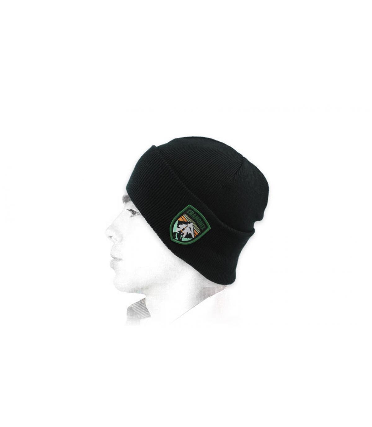Mütze Chamonix schwarz