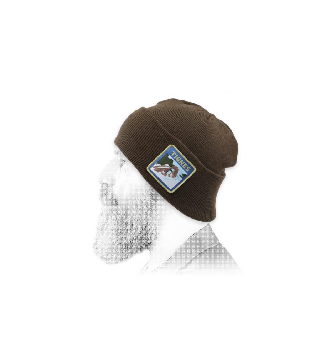 Mütze braun Tignes