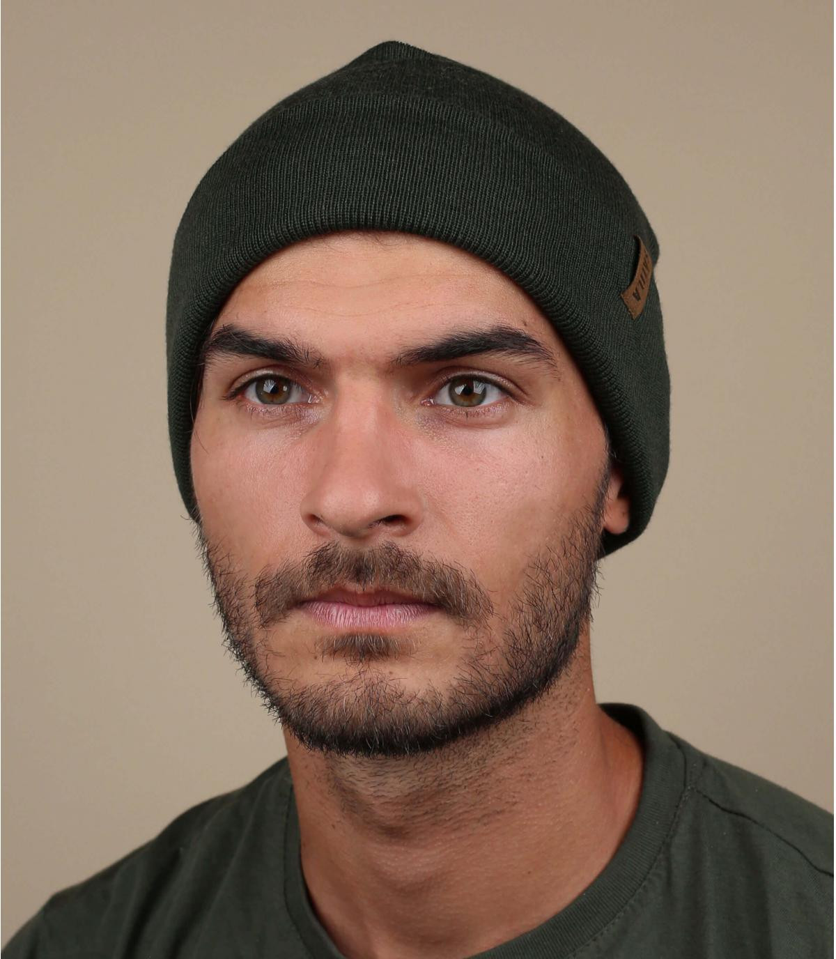 Oversize Mütze grün Sätila