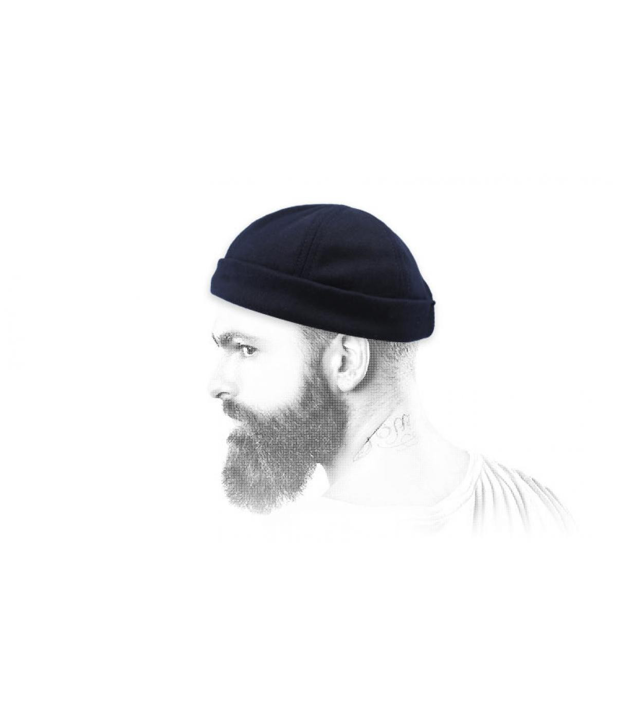 Docker Mütze blau