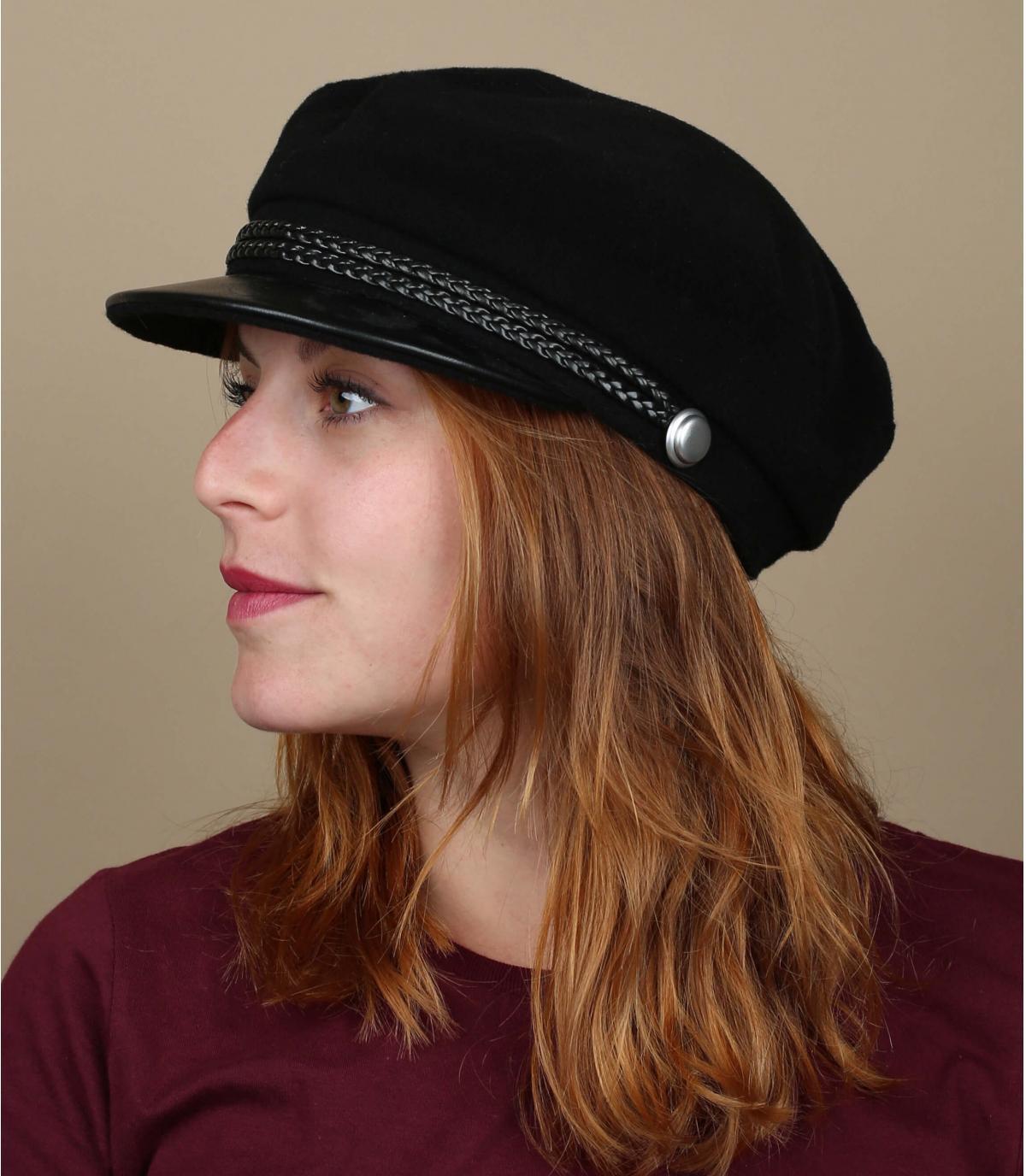 Elbsegler Mütze schwarz