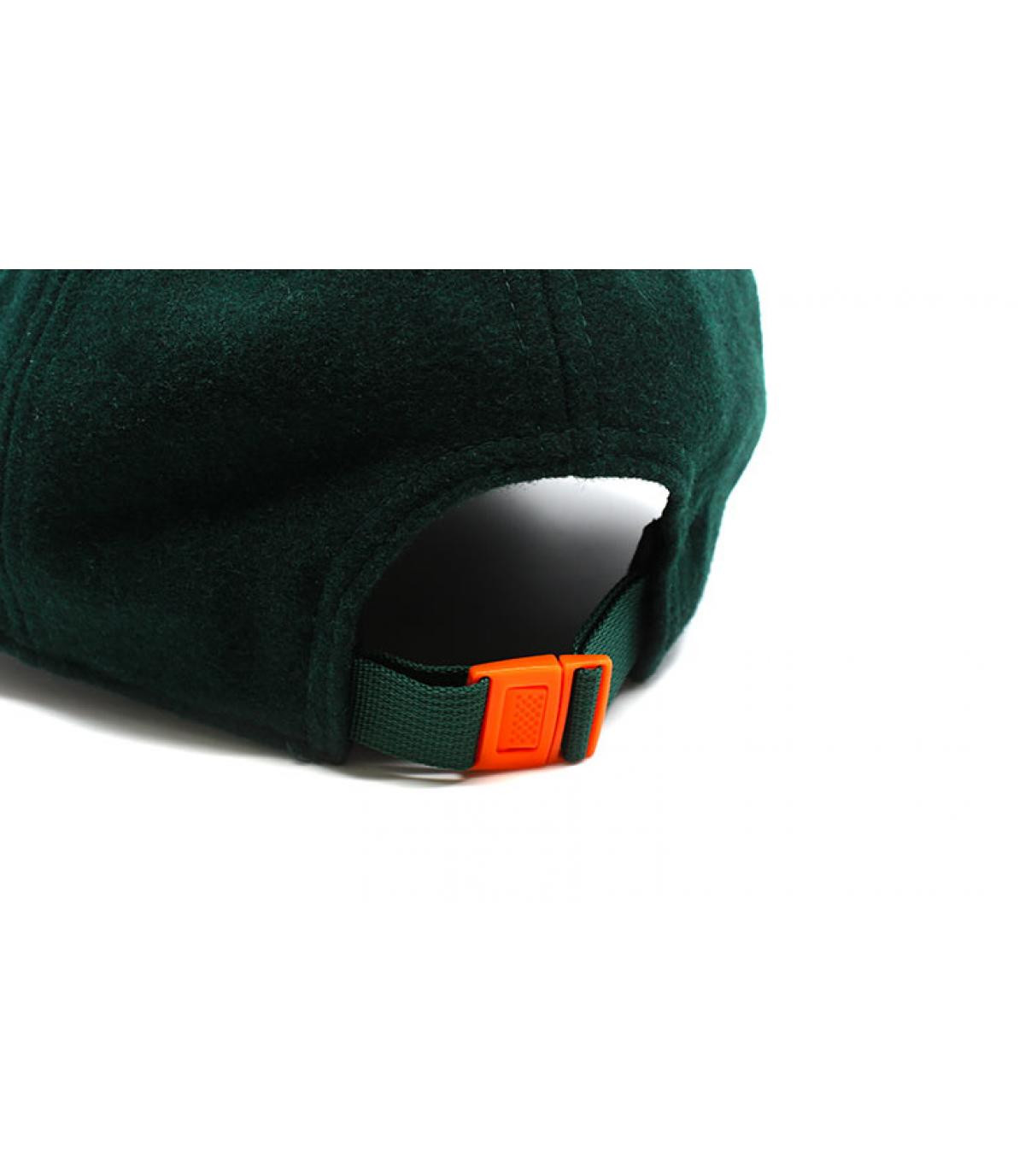 Details Cap Winter Utility Detroit Melton 9Forty dark green orange - Abbildung 5