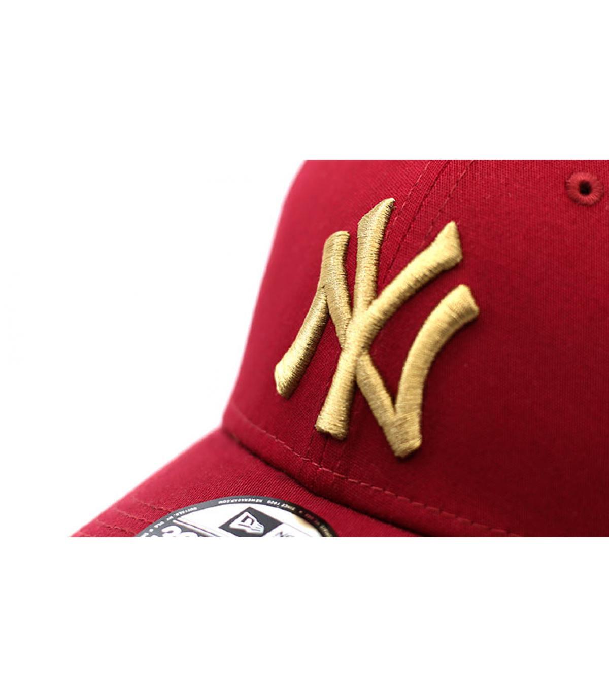 Details Cap League Ess NY 3930 cardinal wheat - Abbildung 3