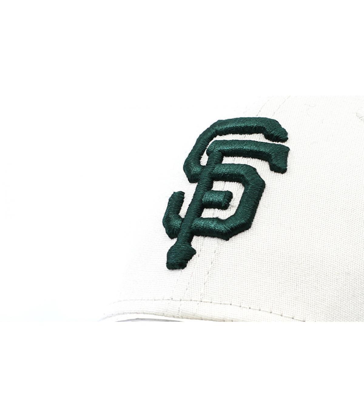 Details Cap League Ess SF 3930 stone dark green - Abbildung 3