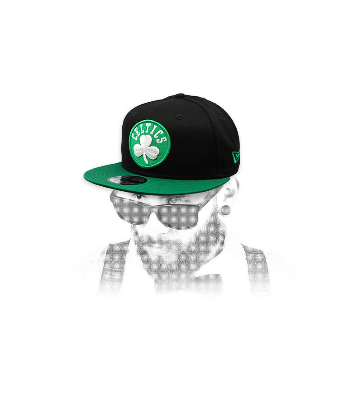 snapback Celtics grün schwarz
