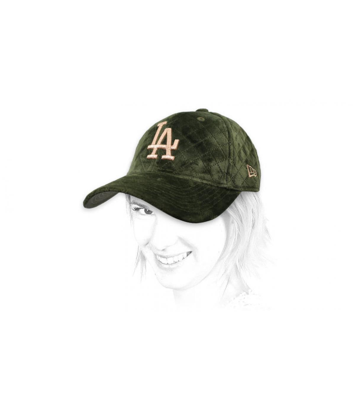 Damen Cap LA khaki