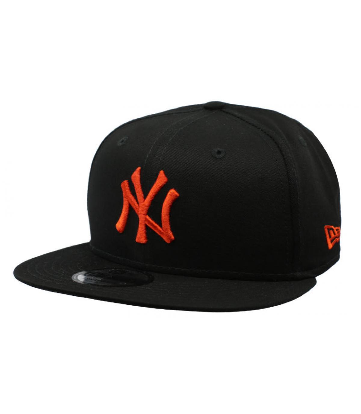 30b08654017f ... Details Snapback Kids League Ess NY 9Fifty black orange - Abbildung 1  ...