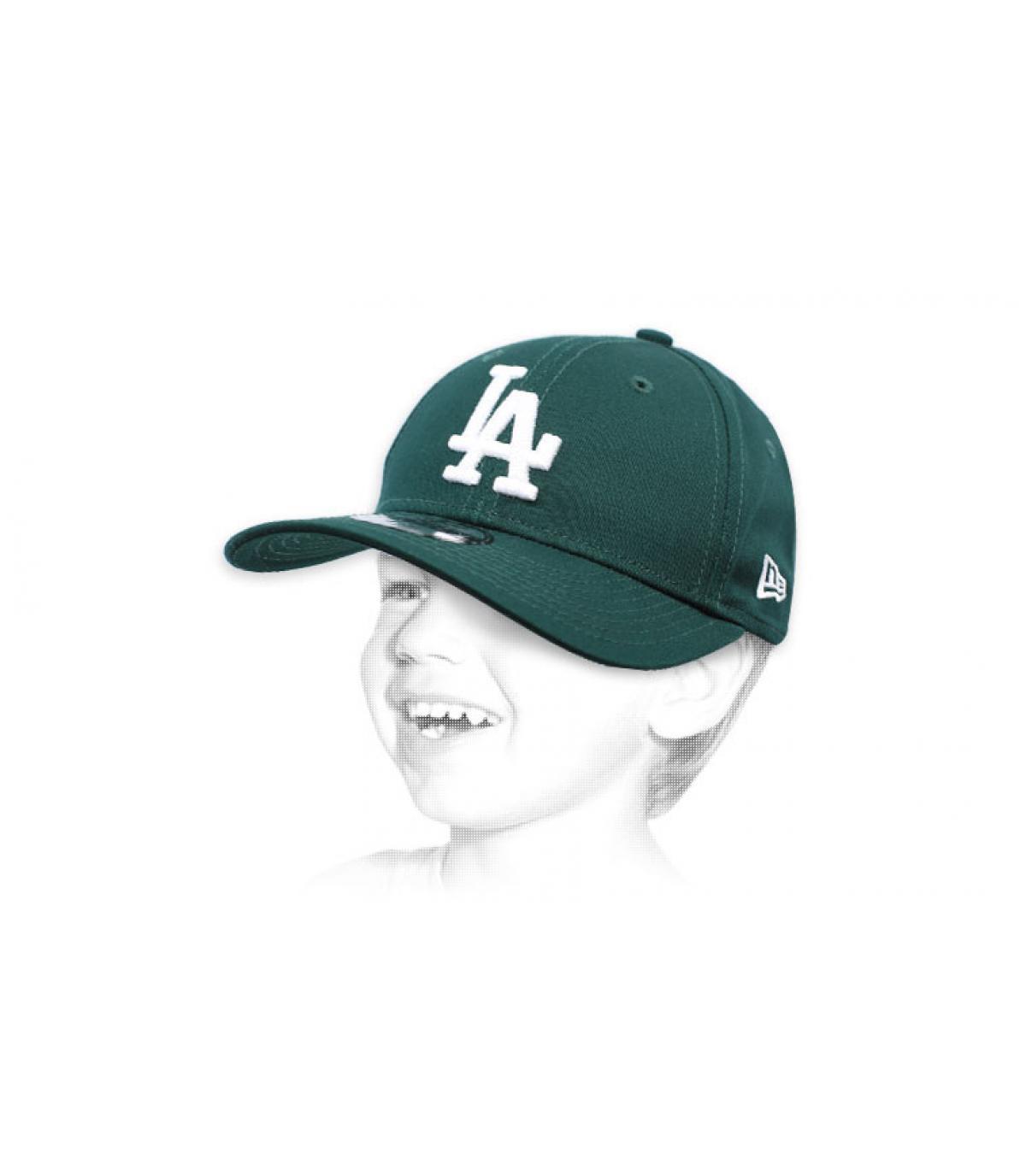 Kinder Cap LA grün